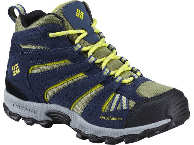 Columbia North Plains Mid Waterproof Lapset kengät , sininen